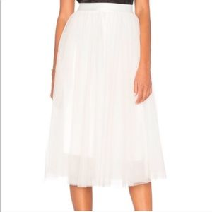 Bailey 44 Tulle Midi Skirt